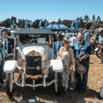 George takes old car enthusiasts on a trip down memory lane